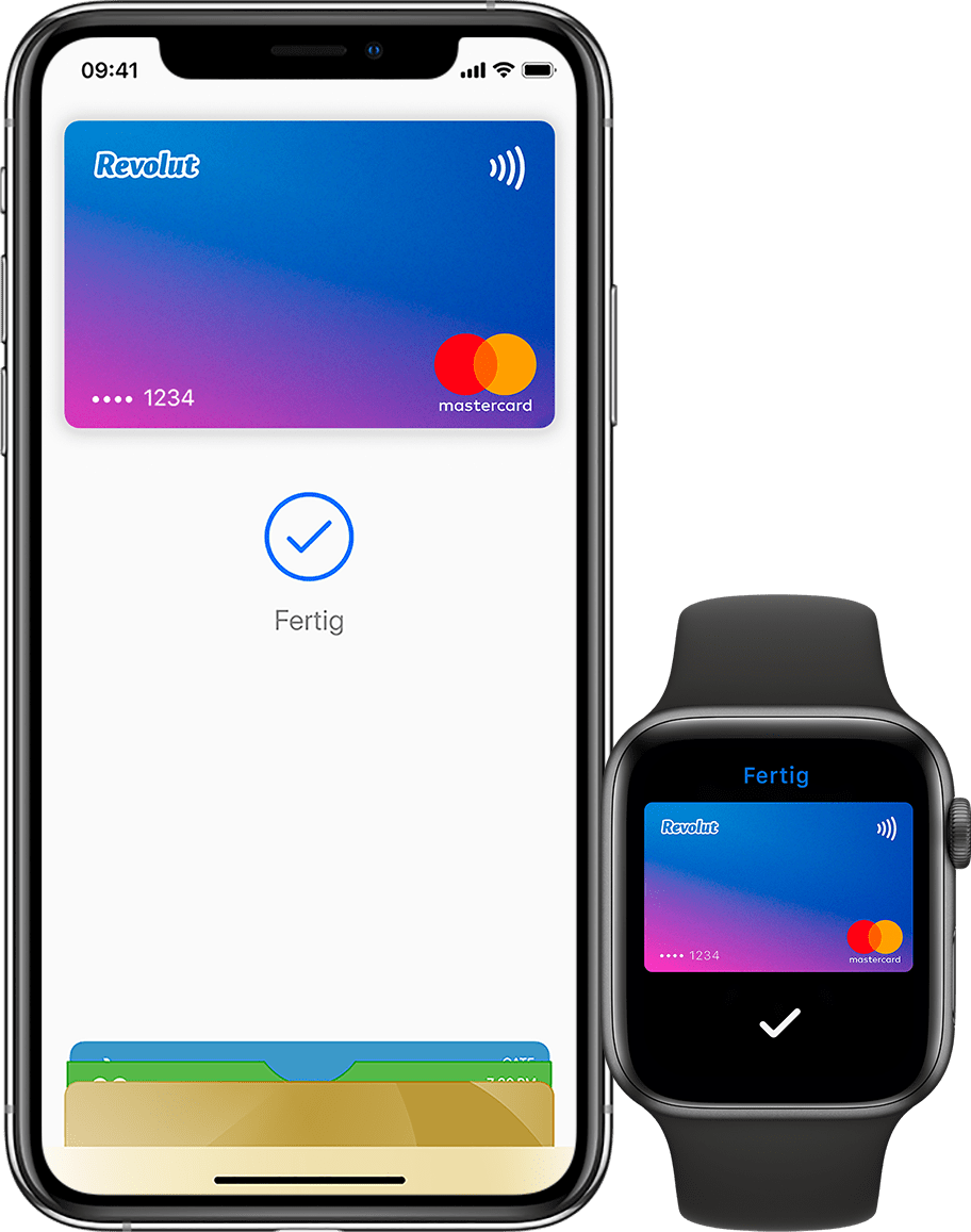Deine Revolut-Karte zu Apple Pay hinzufügen