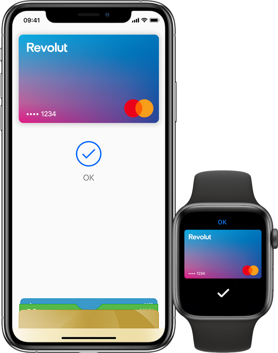 Añade tu tarjeta Revolut a Apple Pay
