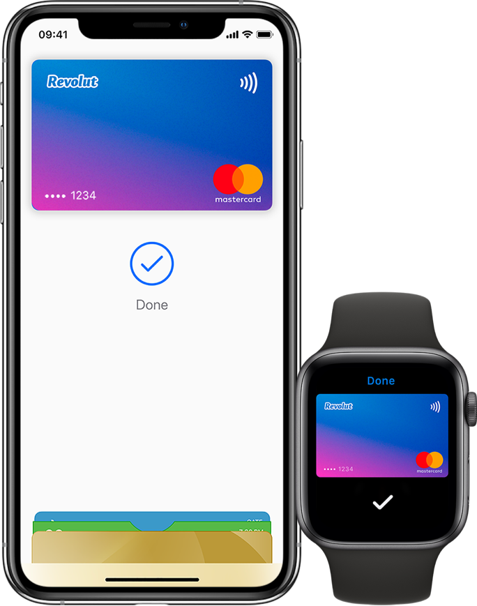 Add your Revolut card to Apple Pay