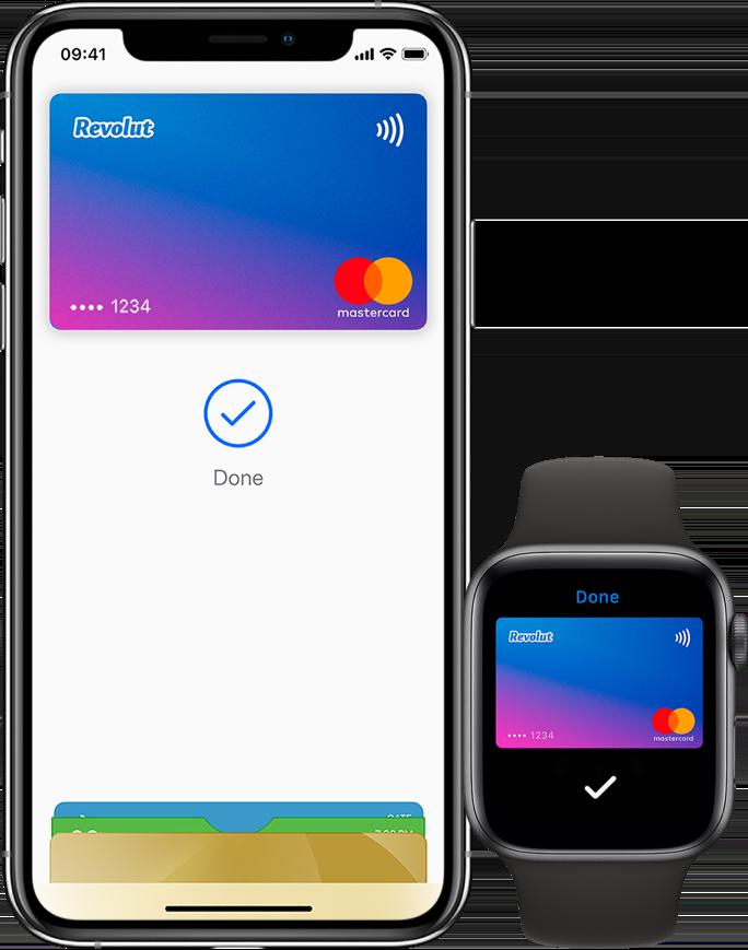 Přidání karty Revolut do Apple Pay