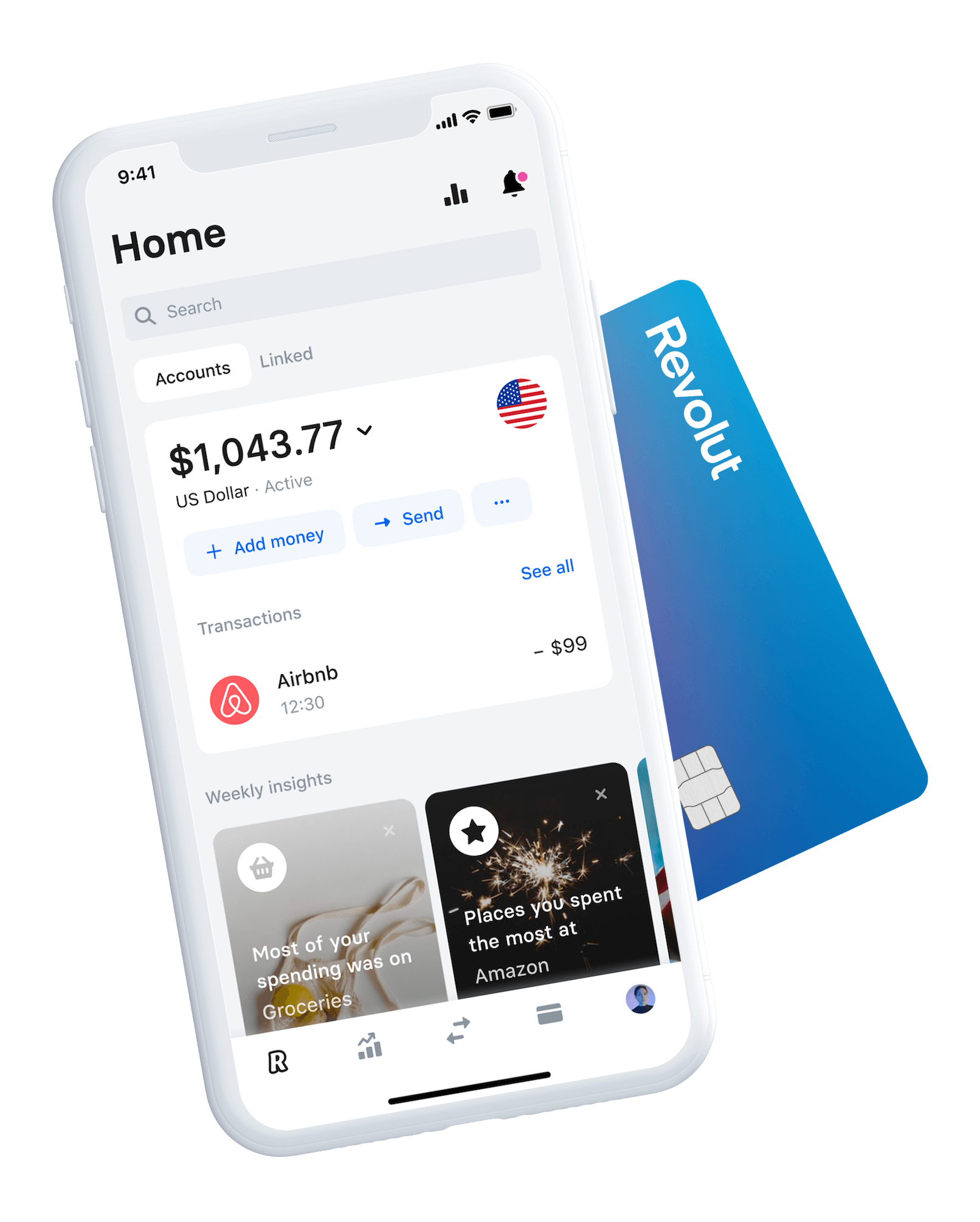 A better way to handle your money | Revolut US