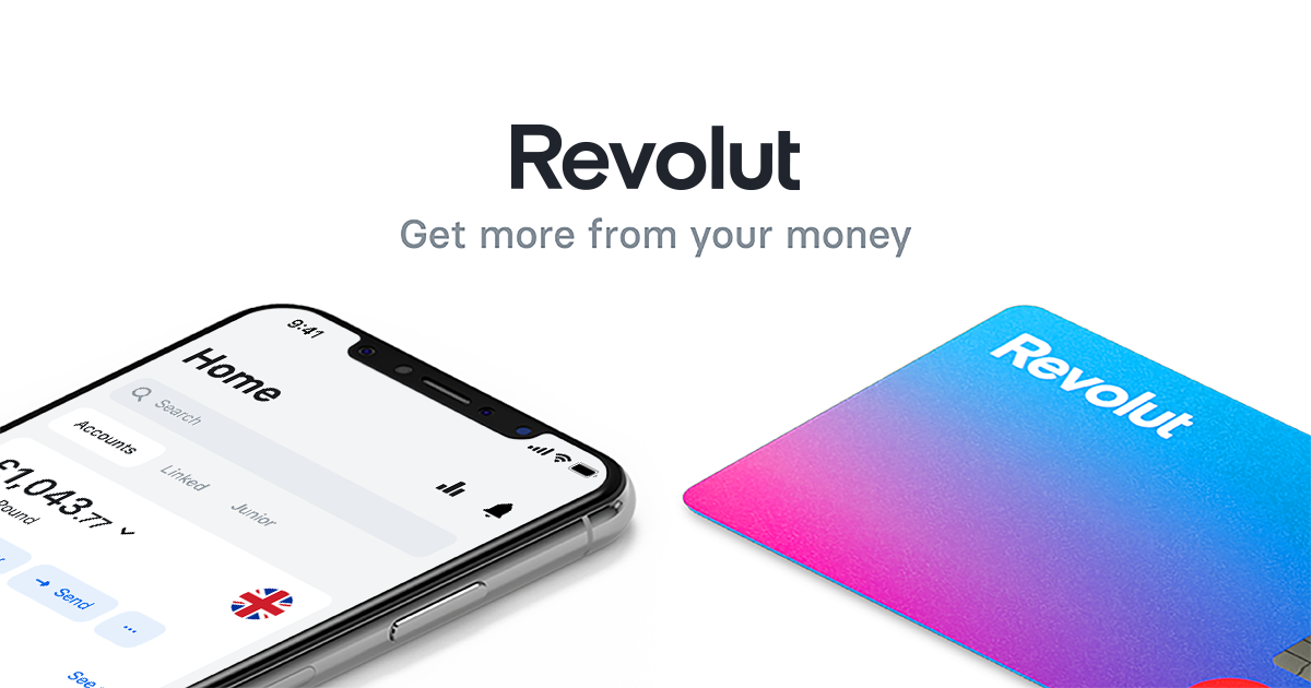 Your Digital Banking Alternative | Revolut