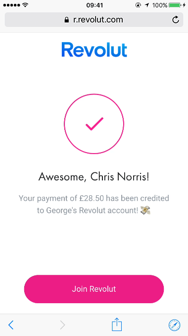 Get paid back by people not on Revolut with Payment Links