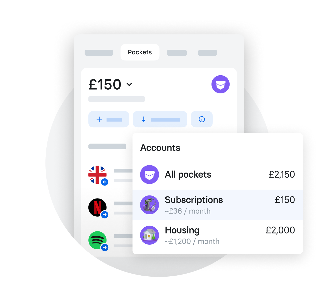 Easily track your payments