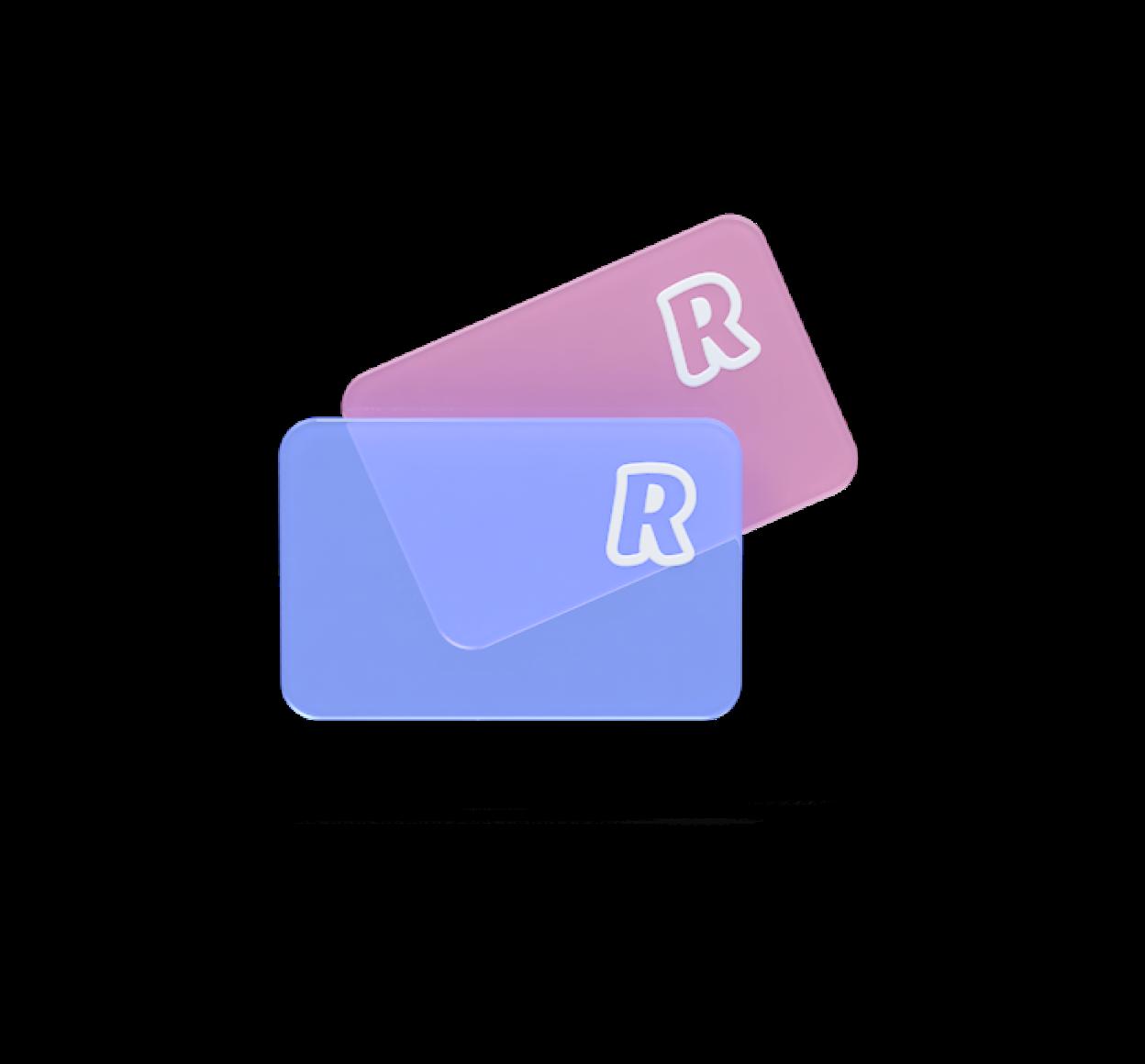 Virtuelle Einwegkarten