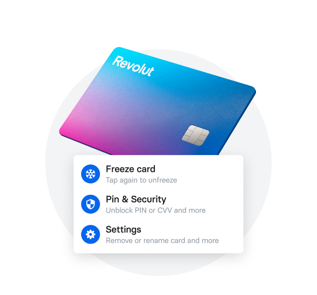 Stay in control of your card security